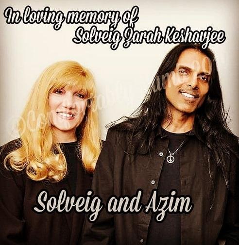 Solveig Keshavjee and Azim Keshavjee
